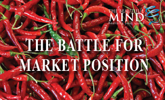THE BATTLE OF MARKET POSITIONING